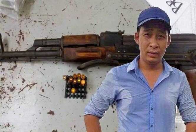 Truy nã 1 bị can bỏ trốn trong vụ Tuấn khỉ có cất giữ súng đạn - ảnh 1