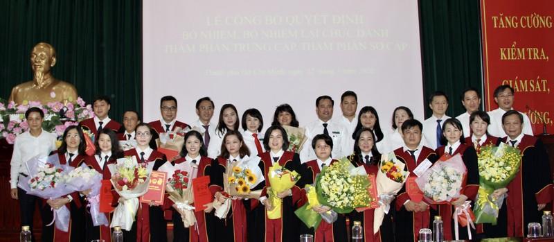 Bổ nhiệm nhiều thẩm phán mới tại TP.HCM - ảnh 2