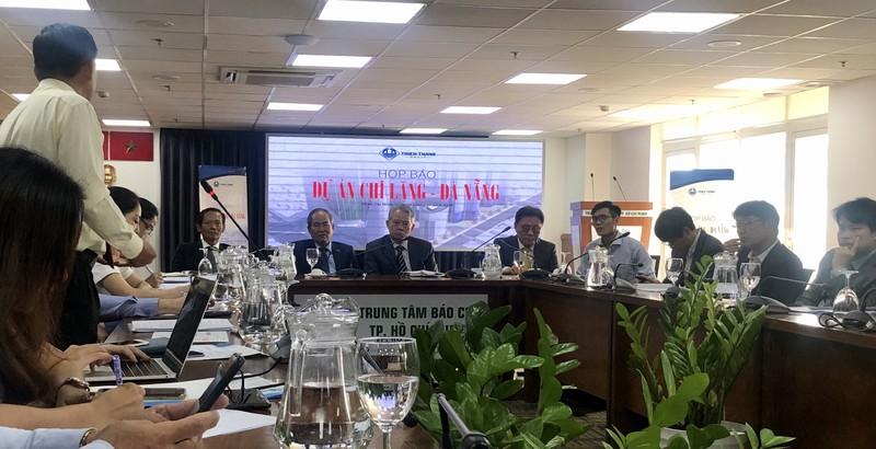 Doanh nghiệp họp báo về dự án sân vận động Chi Lăng, Đà Nẵng - ảnh 1