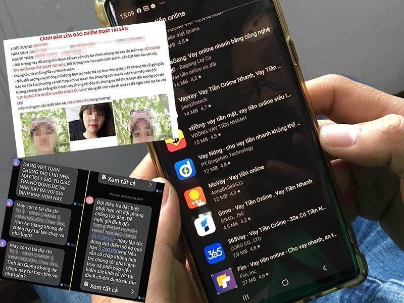 Đường dây người Trung Quốc tổ chức cho vay lãi nặng qua app  - ảnh 1