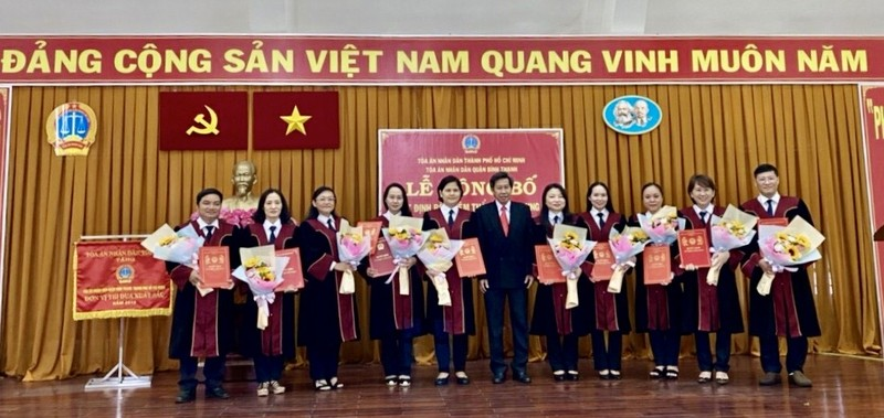 Bổ nhiệm nhiều thẩm phán tại TAND quận Bình Thạnh, TP.HCM - ảnh 2