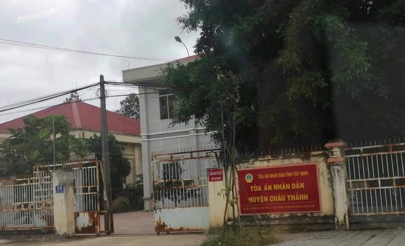 Cựu chánh án, phó chánh án ở Tây Ninh bị khởi tố - ảnh 1