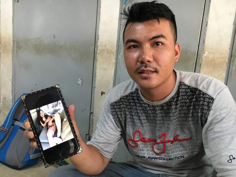 Hy hữu: Chồng đỡ đẻ cho vợ ngay trên xe ở Sài Gòn  - ảnh 1