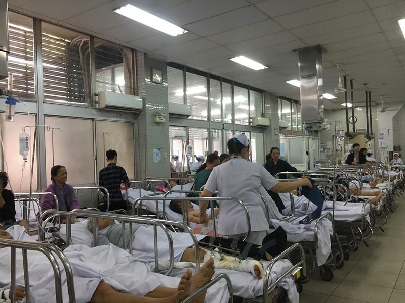 Tình hình cấp cứu trong 7 ngày nghỉ tết Nguyên đán tại TP.HCM - ảnh 1