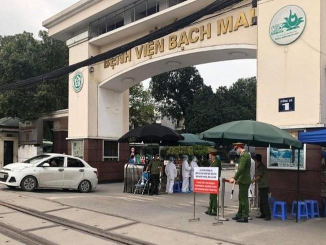 TP.HCM xác định 17 người từng đến BV Bạch Mai - ảnh 1