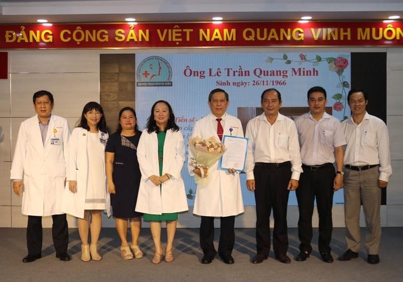 Nhân sự mới Bệnh viện Tai Mũi Họng TP.HCM - ảnh 1