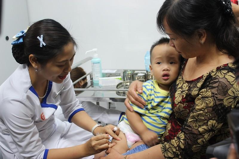 TP.HCM: Tỉ lệ tiêm chủng bạch hầu chậm 15% - ảnh 1