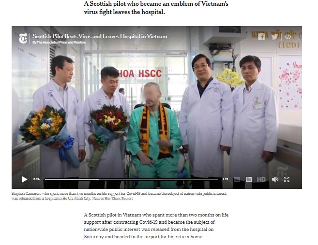 CDC Mỹ chúc mừng BV Chợ Rẫy điều trị thành công bệnh nhân 91 - ảnh 2