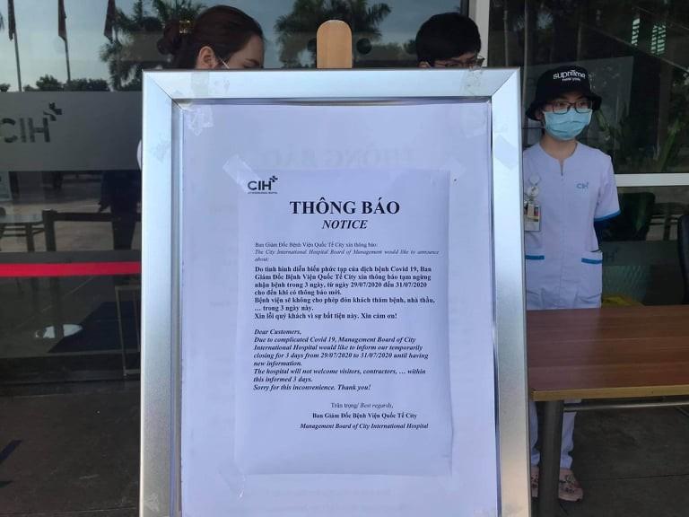 Một bệnh viện ở TP.HCM ngưng nhận bệnh vì ca nghi nhiễm COVID - ảnh 1