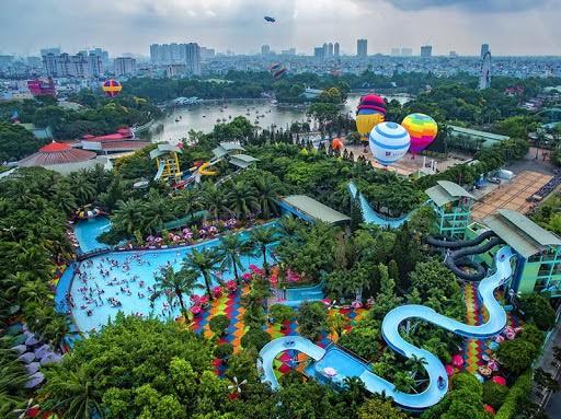 Công viên nước Đầm Sen bị xử phạt 30 triệu đồng - ảnh 1