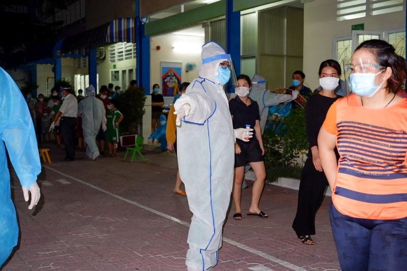 58 ca nhiễm liên quan chợ Sơn Kỳ, quận Tân Phú tích cực truy vết  - ảnh 1