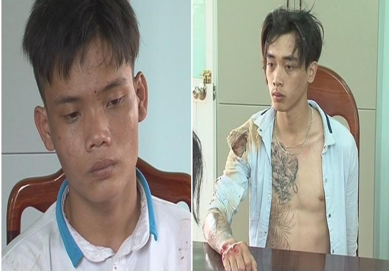 2 kẻ trộm chống trả công an khi bị truy đuổi - ảnh 1