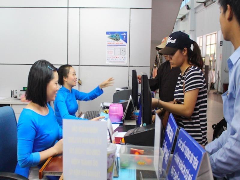 Ga Sài Gòn phát hiện nhiều vé tàu không hợp lệ - ảnh 1