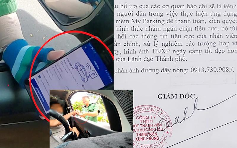 TP.HCM: Sa thải nhân viên thu 'tiền tươi' phí đỗ xe lòng đường - ảnh 1