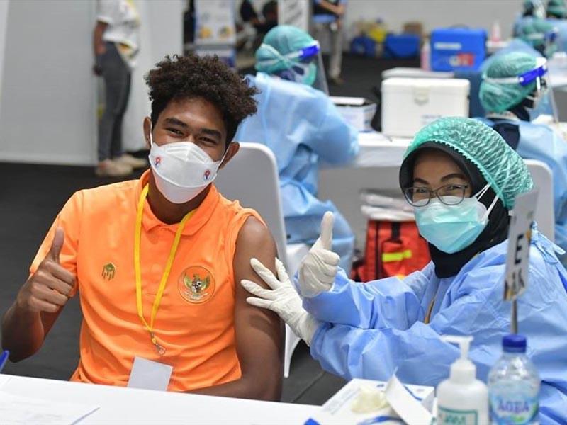 Đội tuyển VN vẫn phải chờ kế hoạch tiêm vaccine phòng COVID-19 - ảnh 1