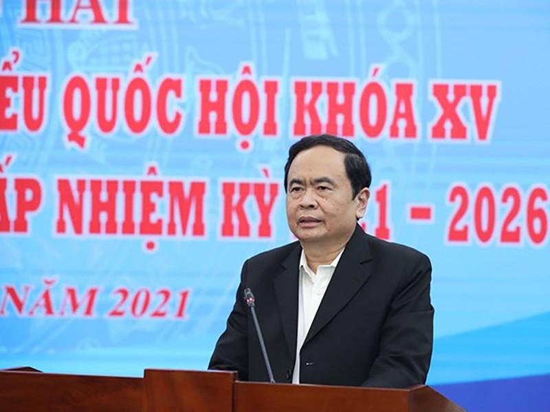 Ông Trần Thanh Mẫn: Phải bảo mật thông tin người ứng cử - ảnh 1