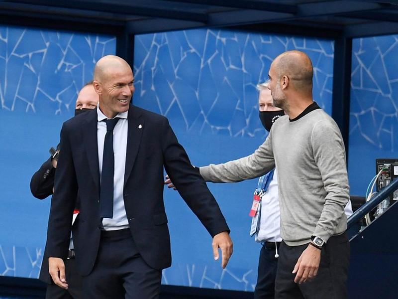 Hồi hộp xem Pep và Zidane so tài - ảnh 1