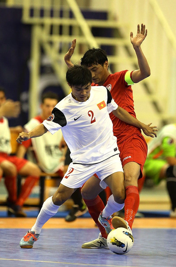 Ngày 15-5, tuyển Futsal Việt Nam đi săn vé World Cup - ảnh 1