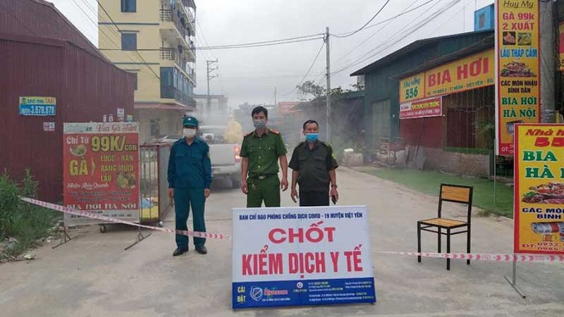 COVID-19: Tập trung dập dịch tại điểm nóng Bắc Giang - ảnh 1