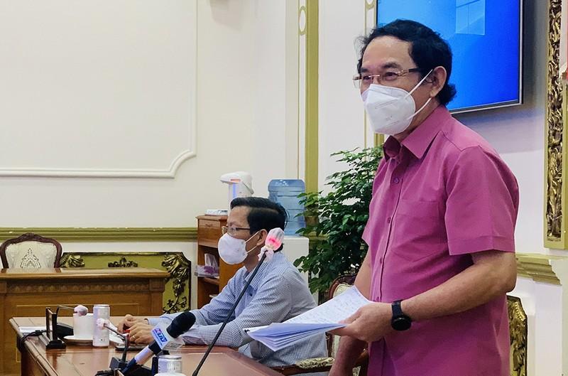 Bí thư Nguyễn Văn Nên: TP.HCM lên nhiều chiến lược hồi phục kinh tế - ảnh 1