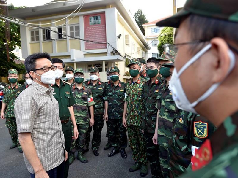 Quân đội tiếp tục hỗ trợ TP.HCM đến hết tháng 11 - ảnh 1
