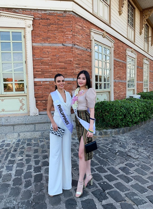 Ở Miss Intercontinental, Ngân Anh đẹp tự nhiên hay photoshop? - ảnh 3