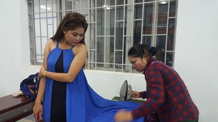 Vui không tưởng ở cuộc thi hoa hậu biên giới Việt-Campuchia - ảnh 4