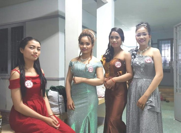 Vui không tưởng ở cuộc thi hoa hậu biên giới Việt-Campuchia - ảnh 1