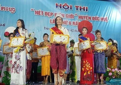 Chung kết hoa hậu biên giới Việt-Campuchia: Đẹp đến khó tin! - ảnh 11