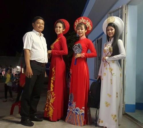 Chung kết hoa hậu biên giới Việt-Campuchia: Đẹp đến khó tin! - ảnh 4