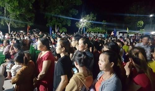 Chung kết hoa hậu biên giới Việt-Campuchia: Đẹp đến khó tin! - ảnh 9
