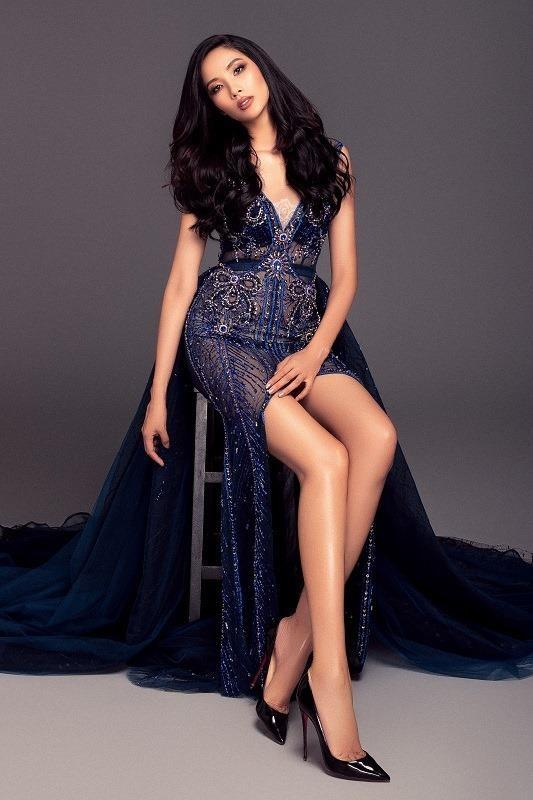 Vòng ba của Hoàng Thùy đã 'đủ chuẩn' chào sân Miss Universe - ảnh 2