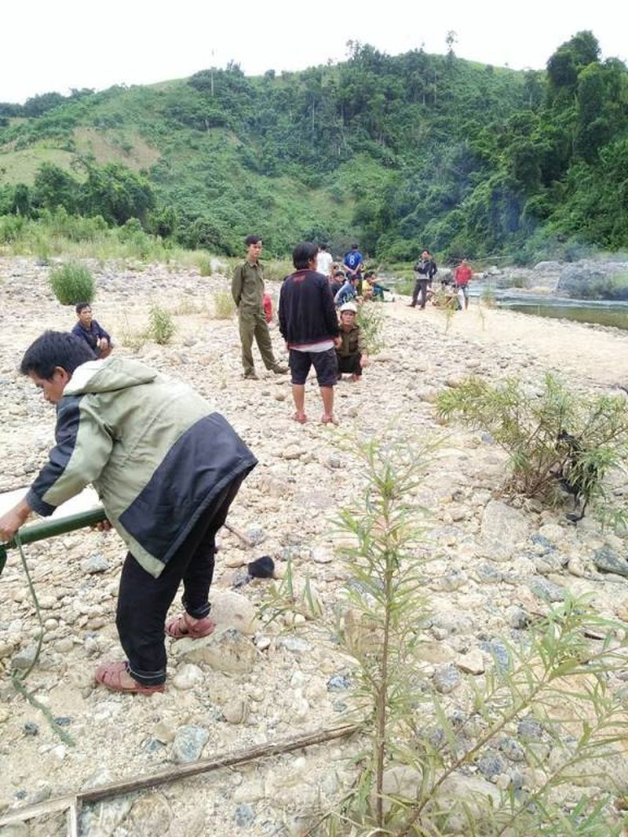 Sinh viên năm 2 chết đuối khi lặn sông bắt cá - ảnh 1