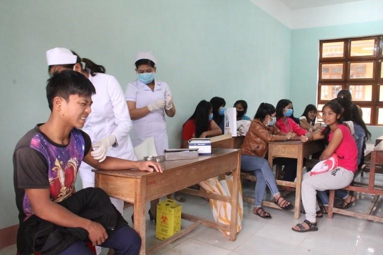 Phát hiện thêm 5 học sinh bị nghi mắc bệnh bạch hầu - ảnh 1