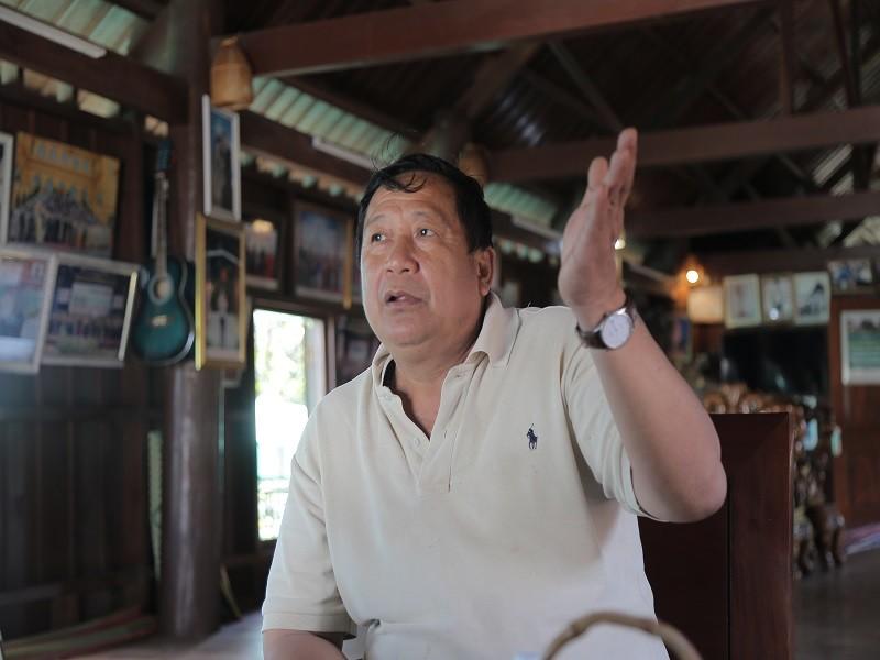 Ngày tết con trai Ama Kông kể chuyện săn voi trắng  - ảnh 1