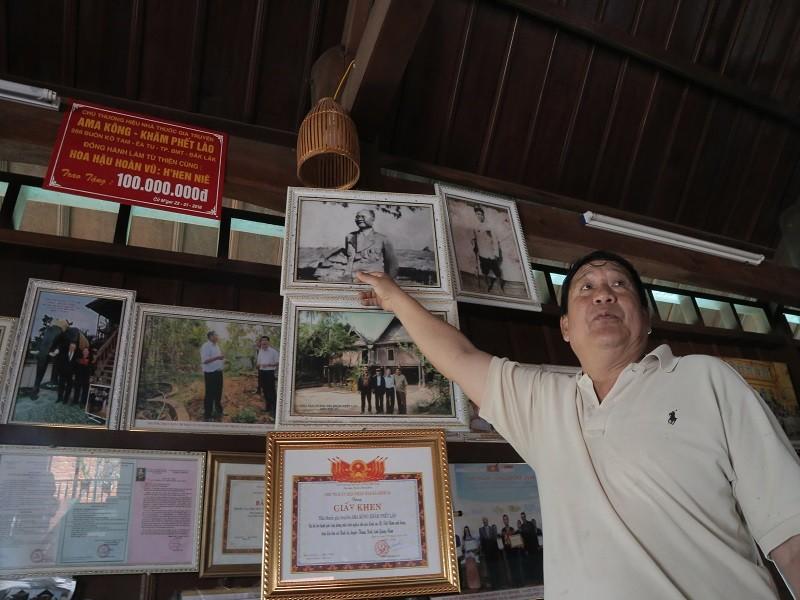 Ngày tết con trai Ama Kông kể chuyện săn voi trắng  - ảnh 5