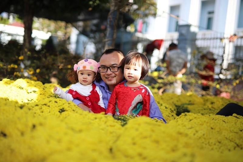 Mê mẩn với chợ hoa Ban Mê chiều cuối năm - ảnh 2