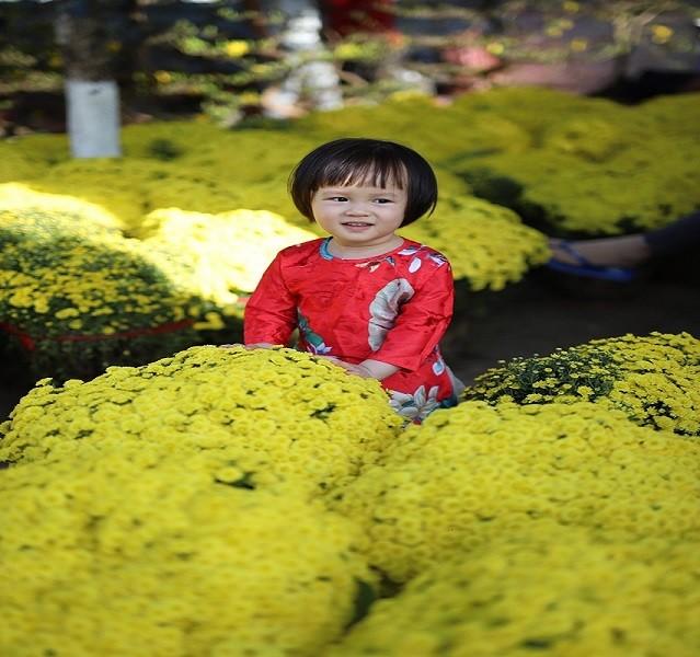 Mê mẩn với chợ hoa Ban Mê chiều cuối năm - ảnh 9