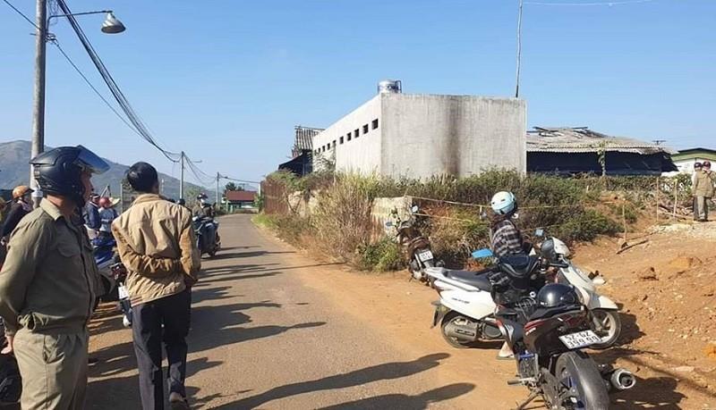 Phát hiện thi thể bị cháy đen ở khu đất trống ở Lâm Đồng - ảnh 1
