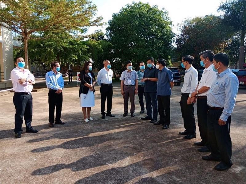 Thứ trưởng Bộ Y tế kiểm tra phòng, chống COVID tại Đắk Lắk - ảnh 3