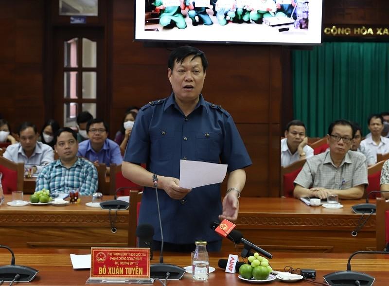 Thứ trưởng Bộ Y tế kiểm tra phòng, chống COVID tại Đắk Lắk - ảnh 2