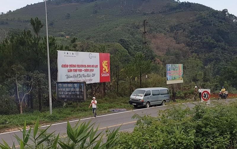 Người dân phát hiện thi thể ở khu vực đèo Bảo Lộc - ảnh 1