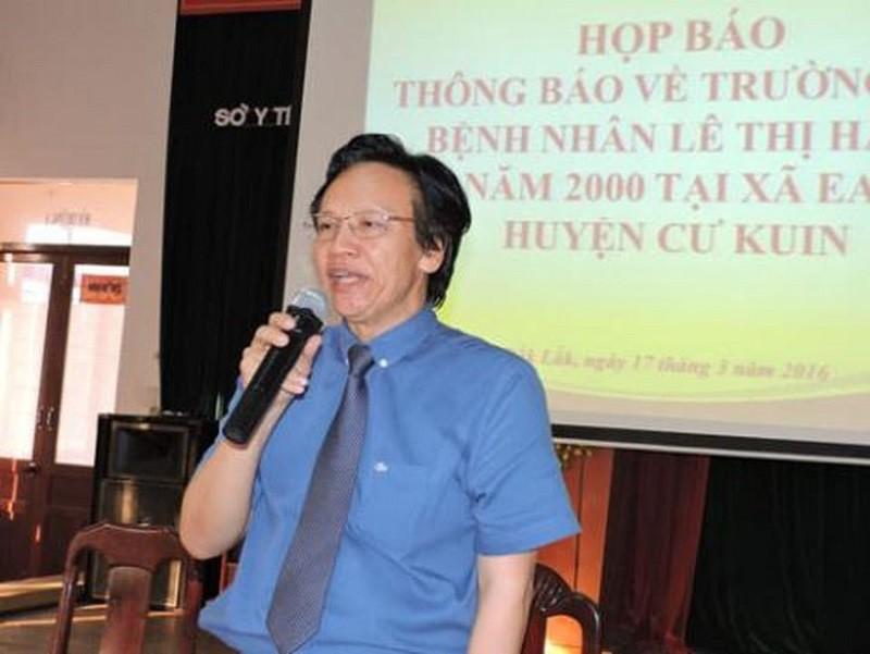 Khởi tố, bắt giam cựu giám đốc Sở Y tế Đắk Lắk - ảnh 1