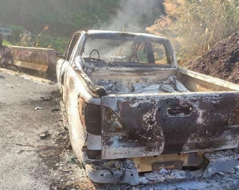 Vụ thi thể trong xe cháy: Bắt bí thư xã Liên Hà - ảnh 1