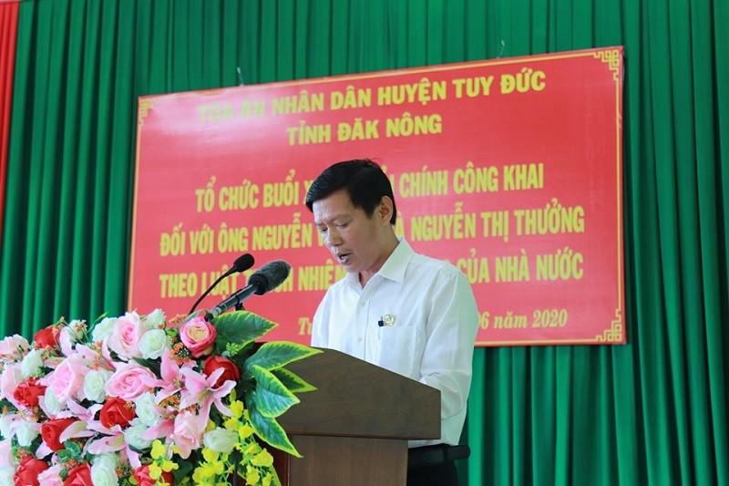 Xin lỗi hai người bị kết án oan ở Đắk Nông - ảnh 2