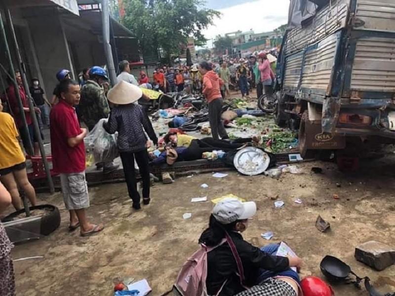 Tai nạn liên hoàn ở Đắk Nông: 3 người chết, 7 bị thương - ảnh 2