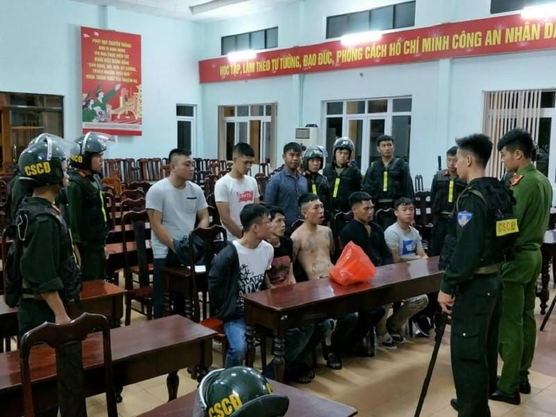 Bắt 12 người trong vụ hỗn chiến trong đêm ở Đắk Lắk - ảnh 1