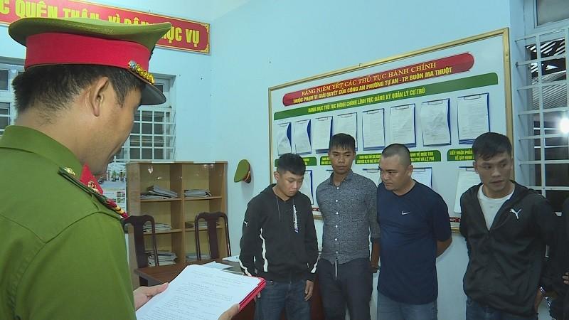 Bắt 12 người trong vụ hỗn chiến trong đêm ở Đắk Lắk - ảnh 2