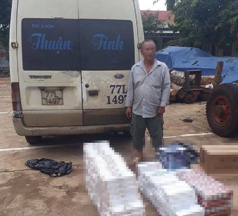Xe khách chở gần 3.000 gói thuốc lá lậu ở Gia Lai - ảnh 1