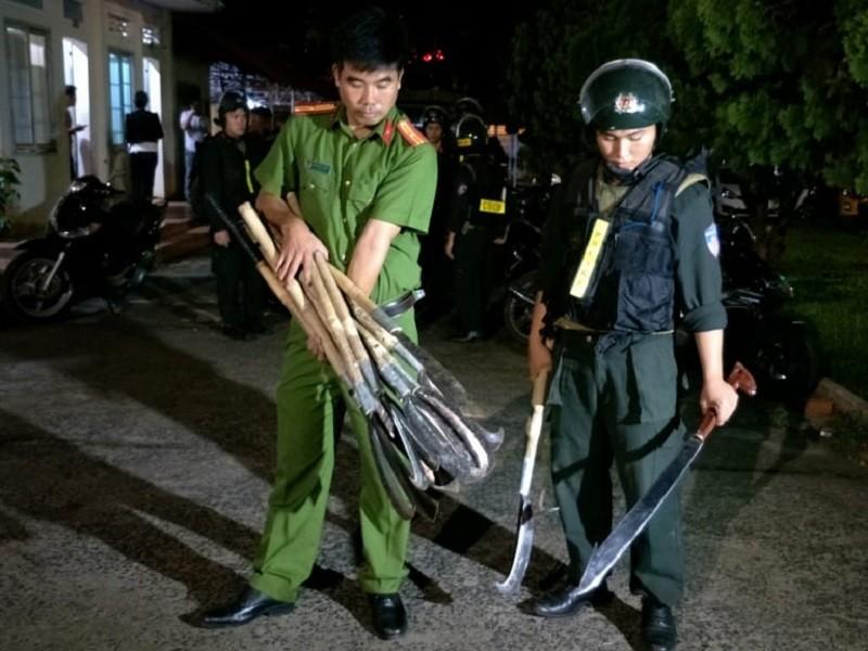 16 người bị bắt liên quan vụ hỗn chiến ở Đắk Lắk - ảnh 2